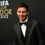 messi smoking dolce gabanna 2013 fifa balon de oro 2012