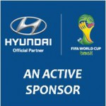 HYUNDAI an active sponsor of FIFA World Cup 2014