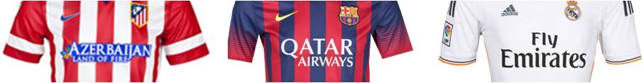 Benchmark patrocinador liga bbva barcelona real madrid for Oficina qatar airways madrid