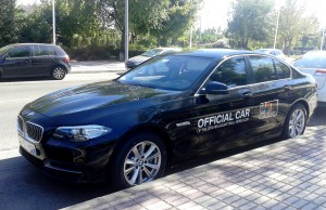 BMW Official Car FIBA World CUP Baloncesto Spain 2014 coche oficial