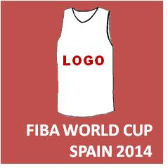 National Team jersey FIBA WORLD CUP Spain 2014 v2