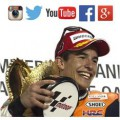 MARC MARQUEZ Moto GP World Champion Social media twitter, facebook, instagram