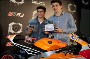Nilox f60 Marc Marquez mm93 on board action Cam